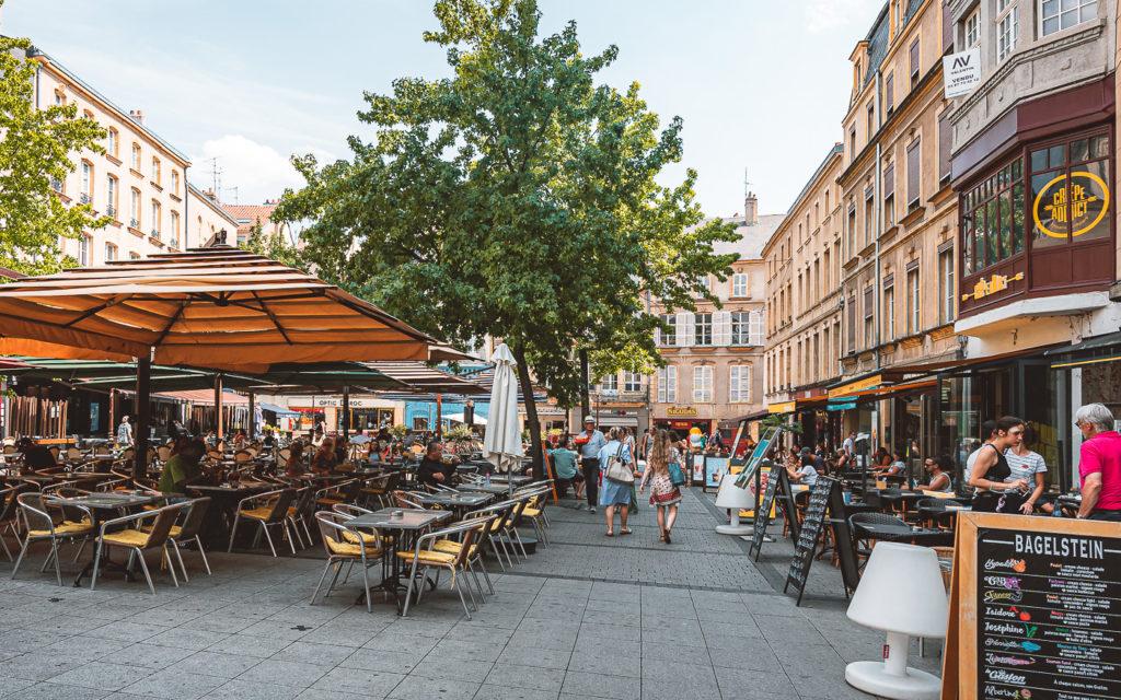 Plaats Saint-Louis in Metz