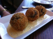 Clansman Hotel, Inverness-shire: Haggis Balls with Whiskey Sauce