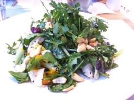 Wagamama: mandarin + sesame chicken salad