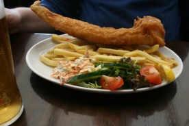 Uig, Pier Restaurant: Fish and Chips