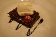 Guy's Restaurant, Glasgow: Chocolate fudge cake