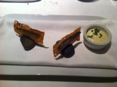 Mikla: Balık Ekmek - Crispy Hamsi, Olive Oil Bread, Lemon