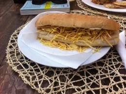 "Hotdog ""Shoe"" (Clube Atlantico, Mindelo)"