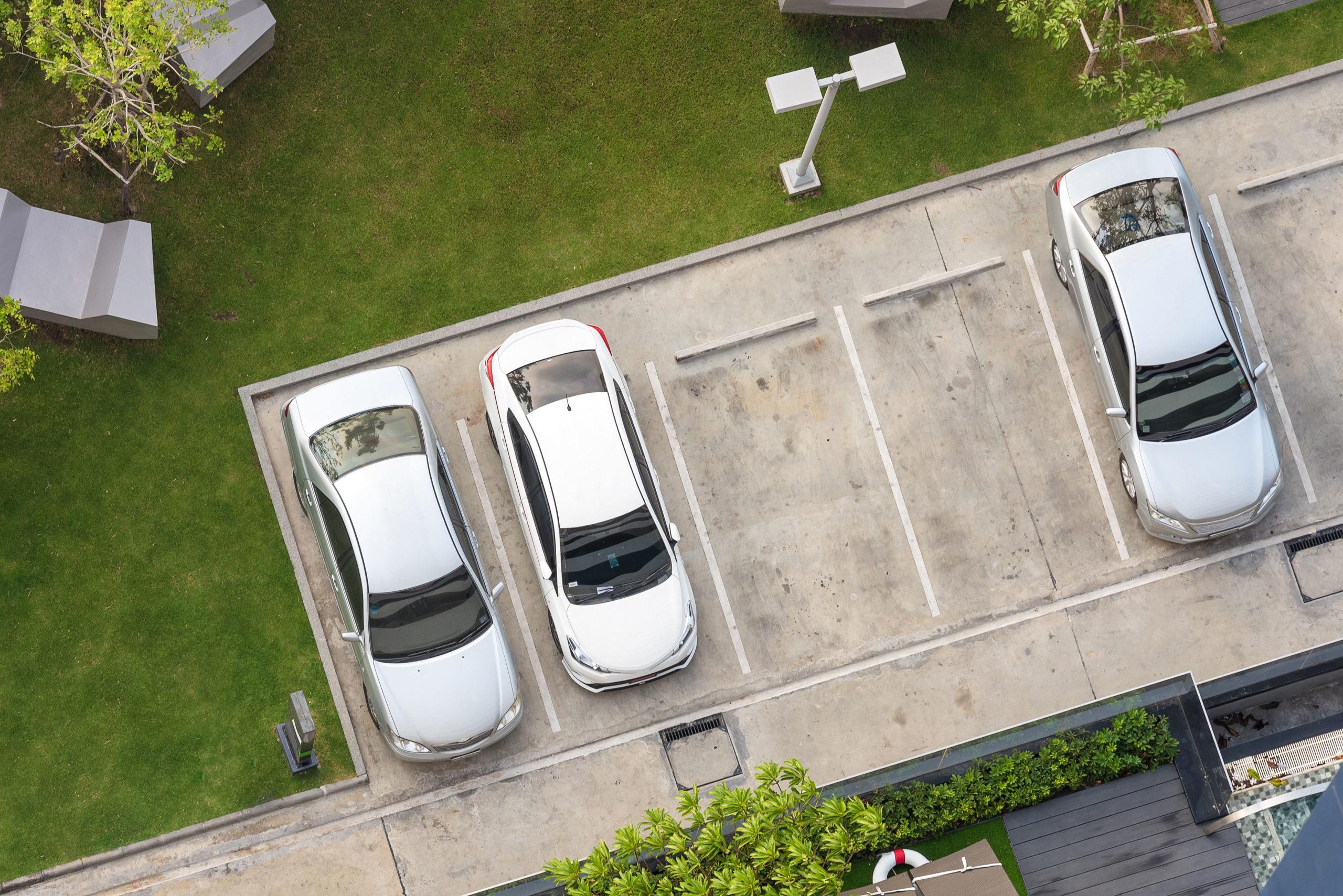 Damit Kunden sicher einen Parkplatz finden