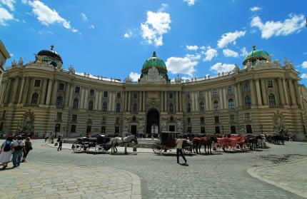 Palacio de Hofburg en Viena