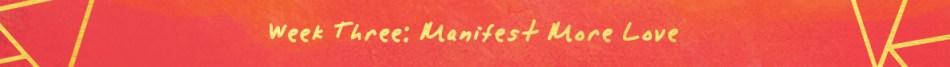 Manifest More Week 3