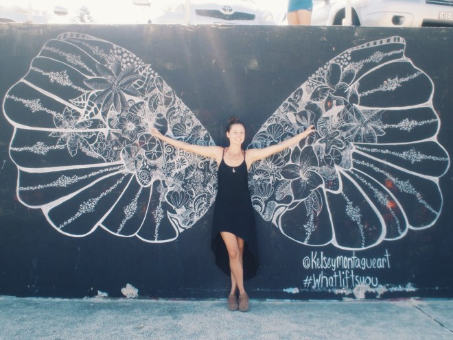 Cause I've got wings...