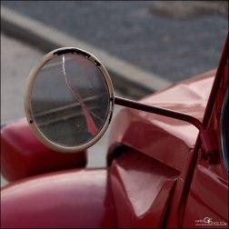 Rojo ferrari - espejos climatizados