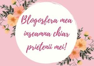 Blogosfera mea înseamnă chiar prietenii mei bloggeri!