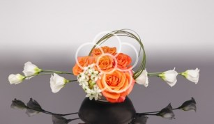 aranjament-corporate-trandafiri-portocalii