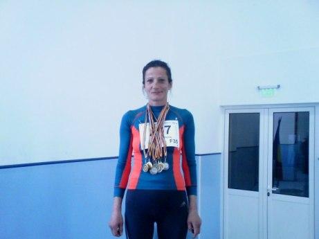 medalii castigate la nationale