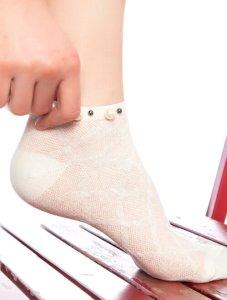 Șosete scurte si talpici de damă din bumbac 100%, lyocel, microfibra, lycra, plasa
