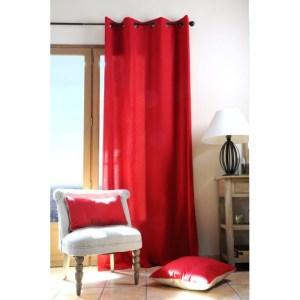 draperie rosie dormitor