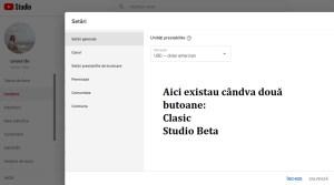 Studio Beta Youtube sau cum să cauți ceva inexistent