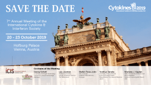 Cytokines 2019 – Save the date – Slide-V2