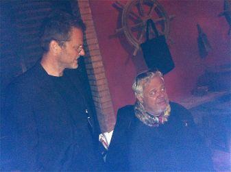 Martin Epply and Erich Joham (right)