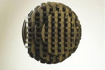 """Vjenceslav Richter """"Asymmetrical Contra"""", 1963, wood"""