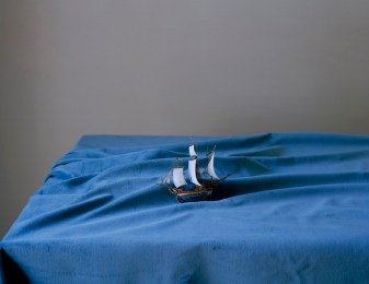 Olivier Richon, Ellipsis with Ship, 2010, c-type print, 66 x 75 cm