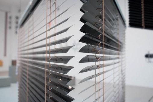 'Future Light' Iat MAK, installation view. Haegue Yang, Escaping transparency, detail