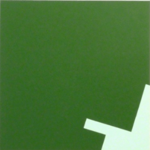 Diet Sayler, Emesa, Painting, 100x100x5 cm, 2012, 418 Contemporary Art Gallery, photocredit: courtesy of the artist
