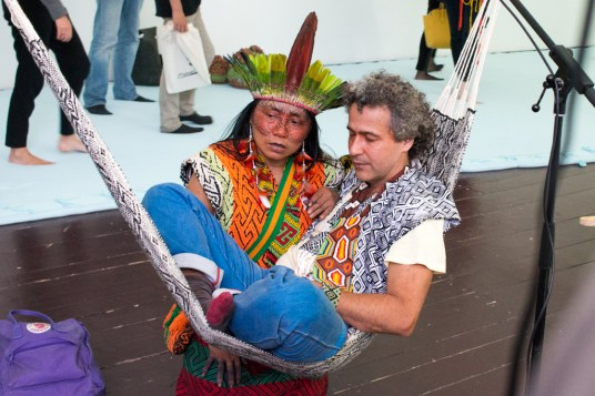 Ernesto Neto and the Huni Kuin-1
