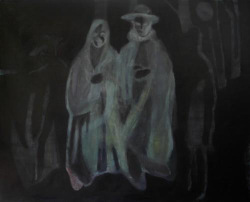 Nebojša Despotović, Second Marriage, Painting, 170 x 210 x 4 cm, 2014, Boccanera, photocredit: courtesy of the artist