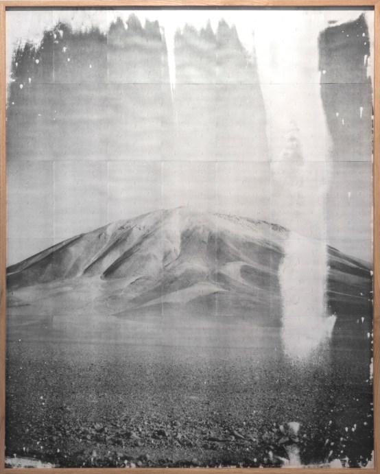 Adam Jeppesen, Incahuasi II, 2016, photo copy, needles, acidfree paper framed, 221 x 179 cm /Edition of 5 + 2 ap