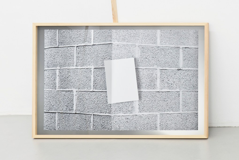 Anu Vahtra, A room made of blank pages, 2016, installation, courtesy of the artist