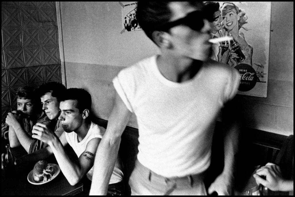 © Bruce Davidson / Magnum Photos, USA. New York City. 1959. Brooklyn Gang.