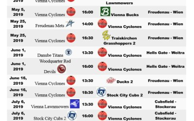May 5 @ 4p.m. Vienna Cyclones vs. Vienna Bucks