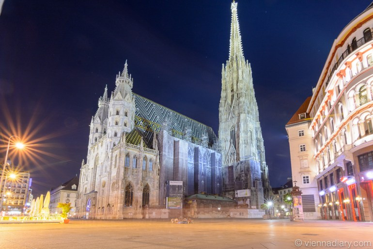Places to visit in Vienna: St. Stephen's Cathedral