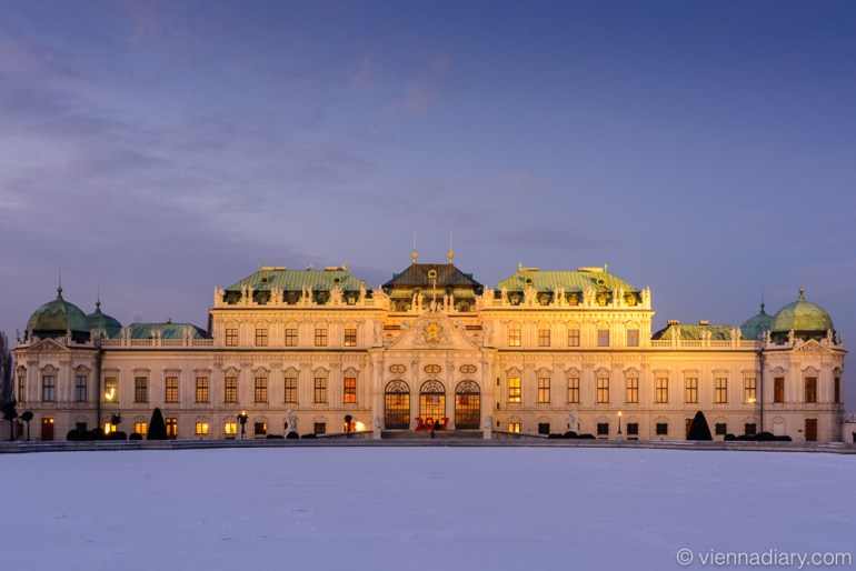 Places to visit in Vienna: Belvedere