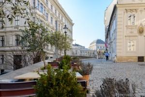 Vienna in Spring: Mölkerbastei