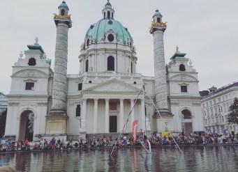 Buskers - Karlskirche