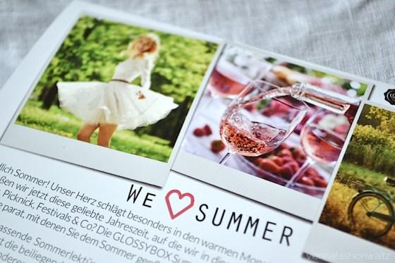 01 Glossybox we love Summer