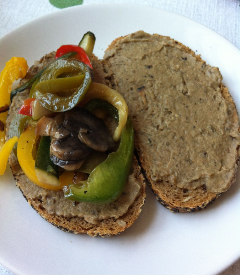 Lurve - Gemüse-Auberginenbrot