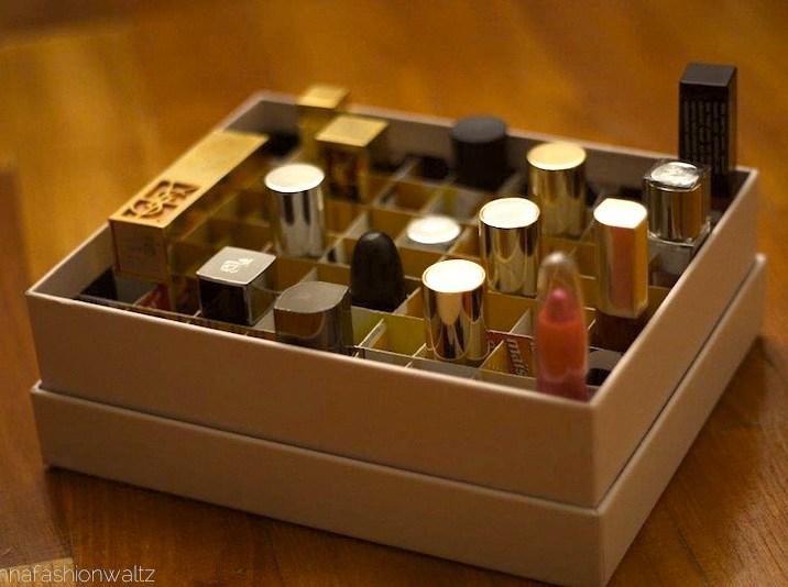 17 Glossybox Inlet / Abteilung für Lippenstifte