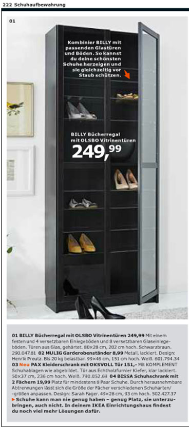 ikea billy als schuhregal wohnideen viennafashionwaltz. Black Bedroom Furniture Sets. Home Design Ideas