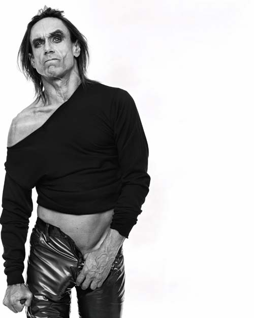 Iggy Pop, L'Uomo Vogue, 1997 © Michel Comte / I-Management