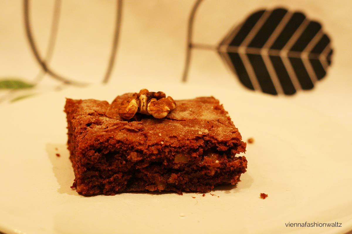 Schoko Brownies mit Walnüssen