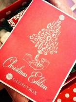 1 Glossybox Dezember 2013 Christmas Edition