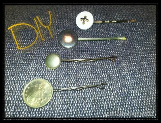 DIY, Haarnadeln,gold,Schmuck, Haarbänder,Knöpfe