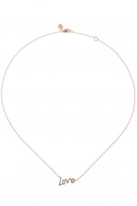 LOVE Kette Roségold Diamanten € 699,00