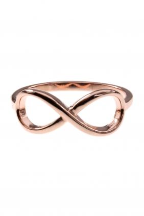 INFINITY Ring Sterling Silber rosé vergoldet € 25,00