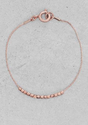 Brass chain bracelet € 15,00