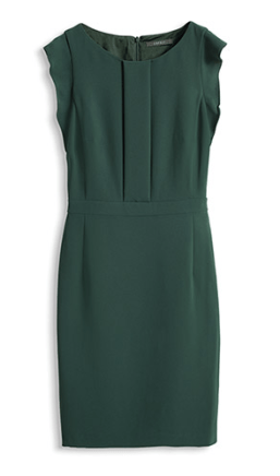 Esprit Crepe-Kleid € 89,99 http://www.esprit.at/crepe-kleid-mit-volant%C3%A4rmelchen-024EO1E004_395?referrer=search