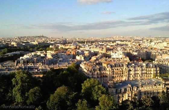 Paris - Ausblick vom Eifelturm