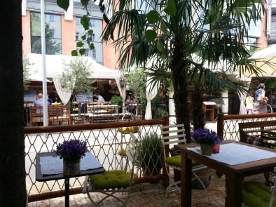 Lucullus, Garten, Restaurant, Wien