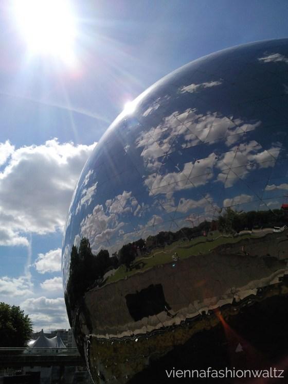 Paris Frankreich La Geode Parc de la Villette