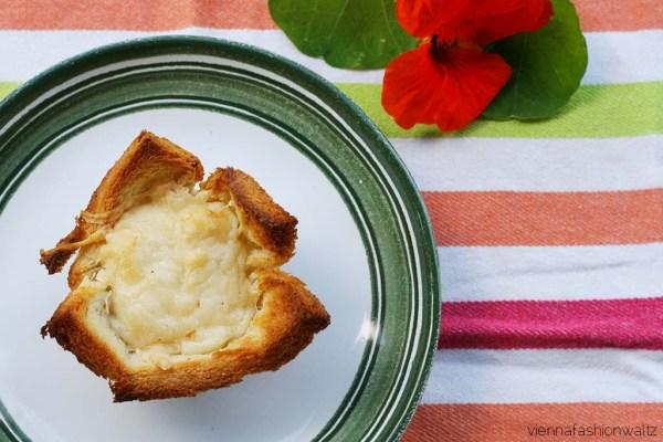Muffins mit Käse & Ei